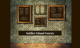 Soldier Island Guests