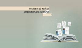 Copy of Himnusz és Szózat összehasonlító elemzése