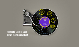 HBSSW Records Management