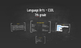 Language Arts - ESOL