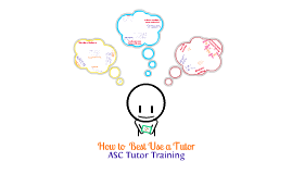 How to Best Use a Tutor Training