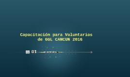 Capacitación para Voluntarios