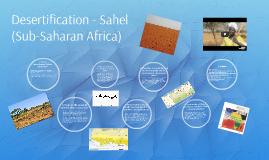 Desertification - Sahel (Sub-Saharan Africa) by Lexie Francisco