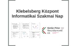 Klebelsberg Központ Informatikai Szakmai Nap