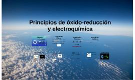 Copy of Principios de óxido-reducción y Electroquímica