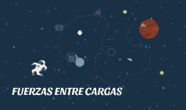 FUERZAS ENTRE CARGAS