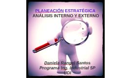 Copy of PLANEACION ESTRATEGICA: ANALISIS INTERNO Y EXTERNO