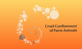 Cruel Confinement of Farm Animals