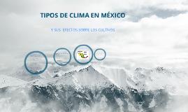 Los climas en mexico