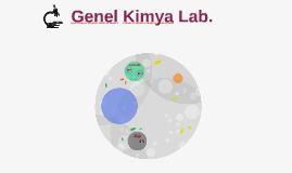Genel Kimya Lab. I