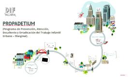 - Plan de Intervención comunitaria- PROPADETIUM