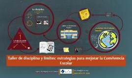 Taller de disciplina y límites: estrategias para mejorar la Convivencia Escolar