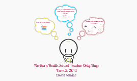 NHS Teacher Only Day: Term 3, 2013