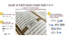 Surah al-Kahfi dalam Hadis Nabi s.a.w