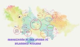 organización de una oficina de relaciones públicas