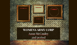 WOMENS ARMY CORP