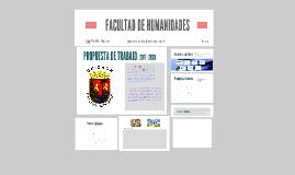 Propuesta Facultad de Humanidades