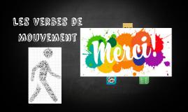 Les Verbes de Mouvement