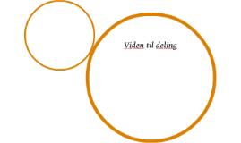 Viden til deling