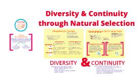 BI 1: Diversity & Continuity in Life