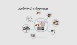 Ambitions and achievements
