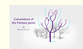 Conventions of Fantasy genre