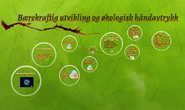 Copy of Bærekraftig utvikling og økologisk håndavtrykk