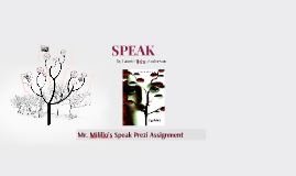 Milillo Speak Prezi Assignment
