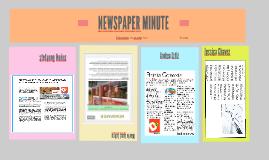 NEWSPAPER MINUTE