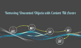 Removing Unwanted Objects with Content Fill Aware