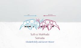 Sufi vs Wahhabi
