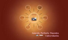 Acuerdo Paritaria Docentes Universitarios