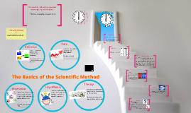 The Basics of the Scientific Method