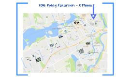 2016 Policy Excursion - Ottawa