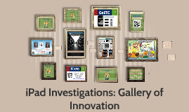 Copy of iPad Investigations - GaETC 2014