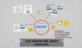 Los valores del  joven mexicano.