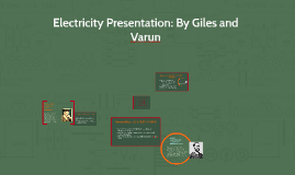 Electricity Presentation: By Giles and Varun