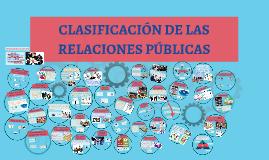 Copy of CLASIFICACIÓN DE LAS RELACIONES PÚBLICAS