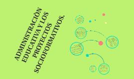 Copy of FUNDAMENTOS DE LA ADMINISTRACION EDUCATIVA