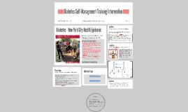 Diabetes Self-Management Training Intervention