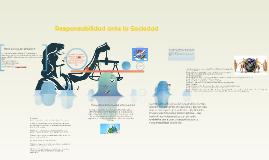 Responsabilidad ante la Sociedad