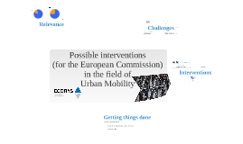 Improving Urban Mobility in Europe