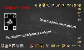 Carnal art - Orlan