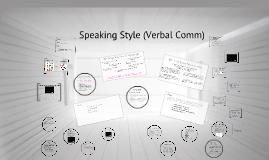 COMM107 - speaking style