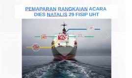 PEMAPARAN RANGKAIAN DIES NATALIS FISIP UHT