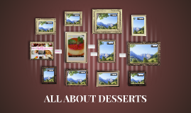 ALL ABOUT DESSERTS