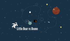 Little Bear vs Boone