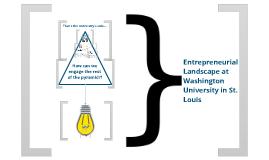 Wash U's Entrepreneurial Landscape