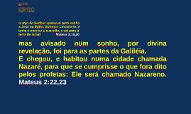 MINISSEMINÁRIO DE JOVENS