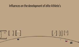 Influencing Factors in Becoming an elite Athlete